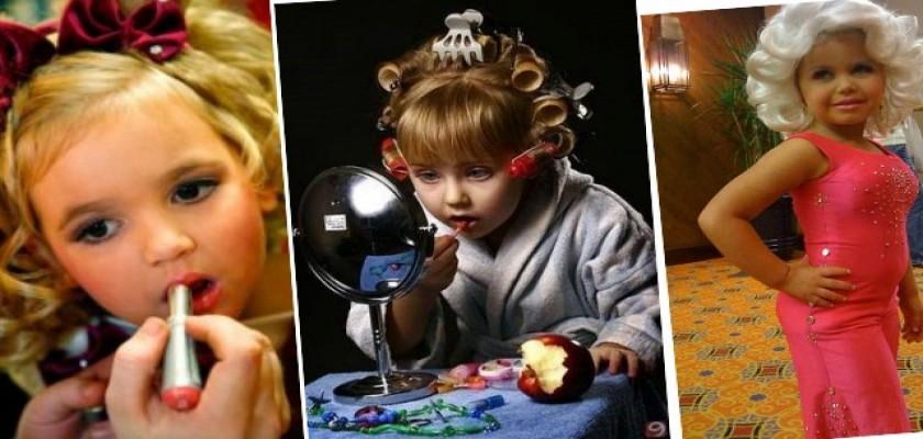 Çocuklara Makyaj Yapmanın Zararları