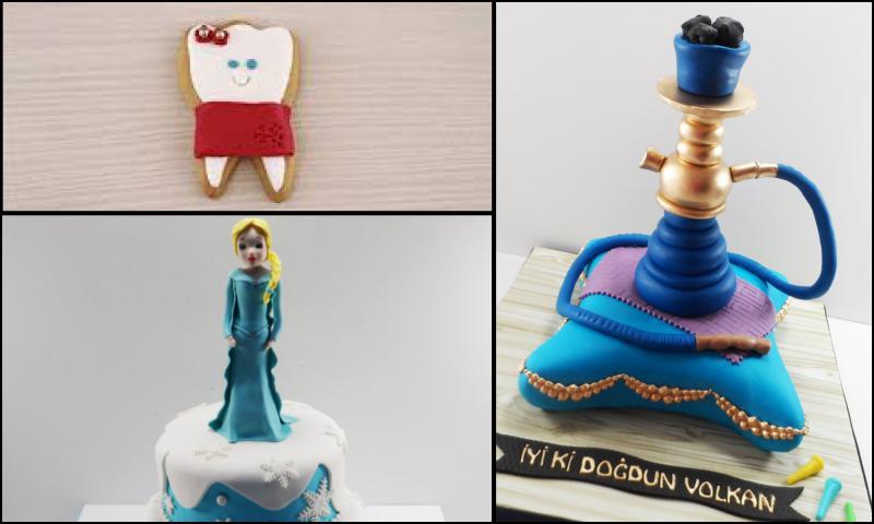 Yeni Yıl Pasta Modelleri