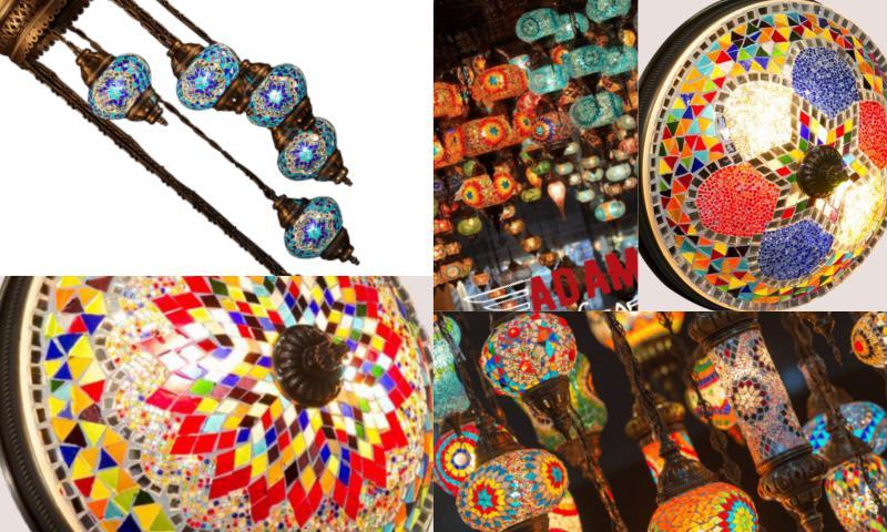 Mozaik Tavan Işıklandırma Modelleri