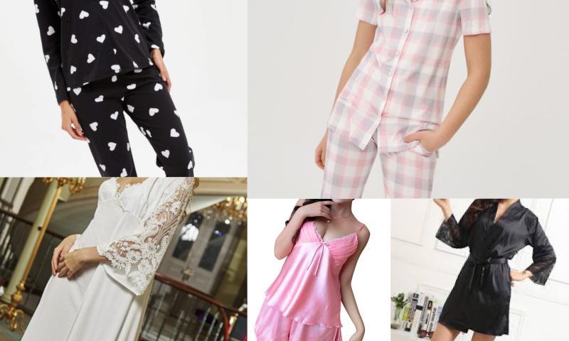 Seksi Kadın Pijama Takımı Modelleri